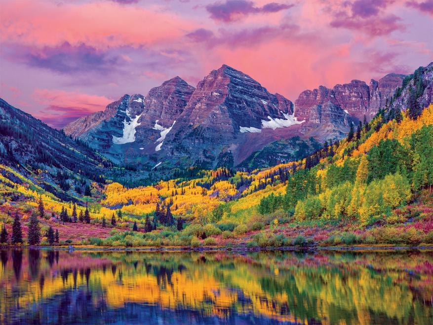 Maroon Bells, Aspen, Colorado (Around the World)