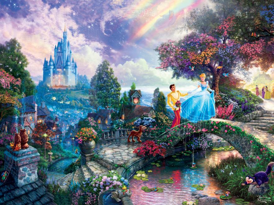Cinderella Wishes Upon a Dream (Disney Dreams) Disney Jigsaw Puzzle