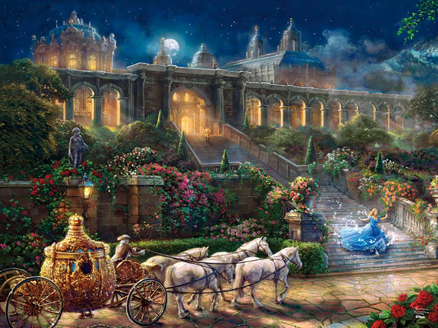 Clock Strikes Midnight (Disney Dreams) Disney Jigsaw Puzzle
