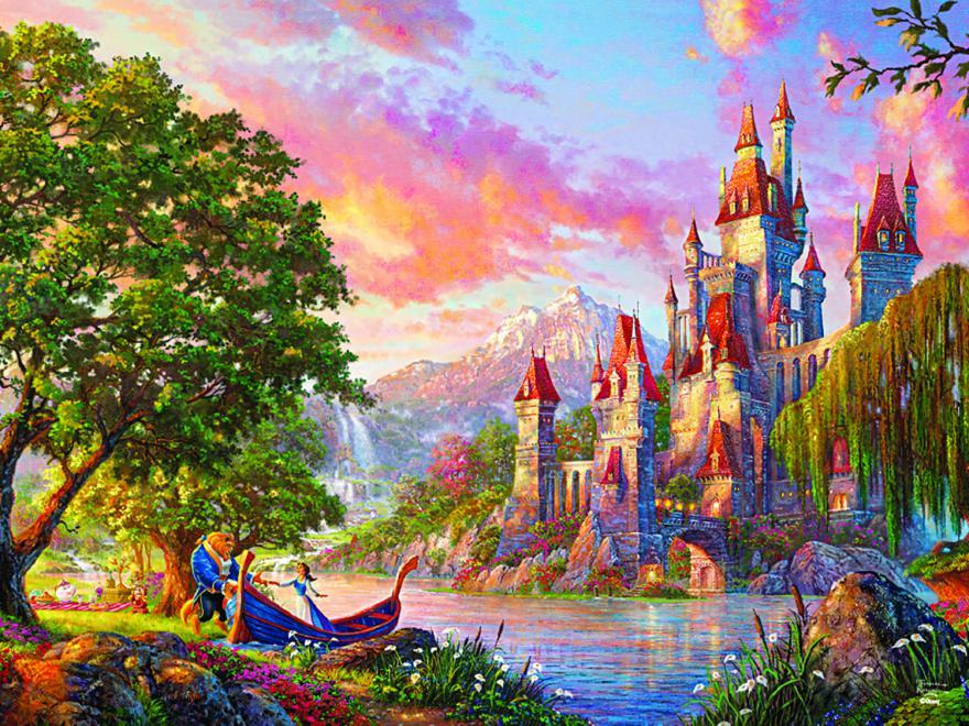 Beauty and the Beast II (Disney Dreams) Disney Jigsaw Puzzle