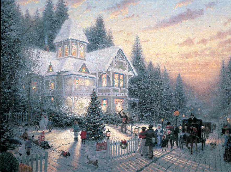 Victorian Christmas 1 Jigsaw Puzzle | PuzzleWarehouse.com