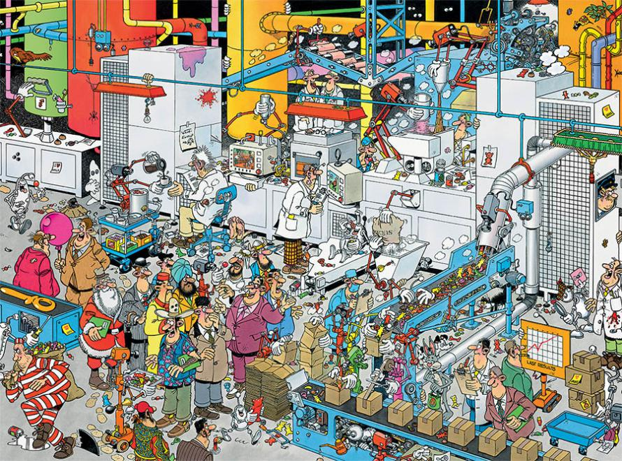 Candy Factory (Crowd Pleasers) People Hidden Images