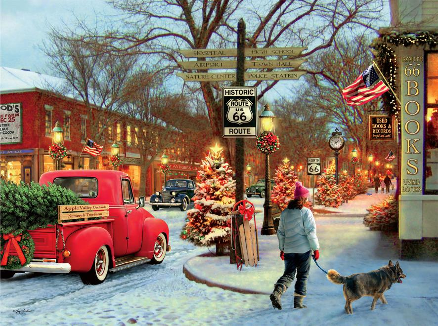 route 66 classic christmas - Classic Christmas