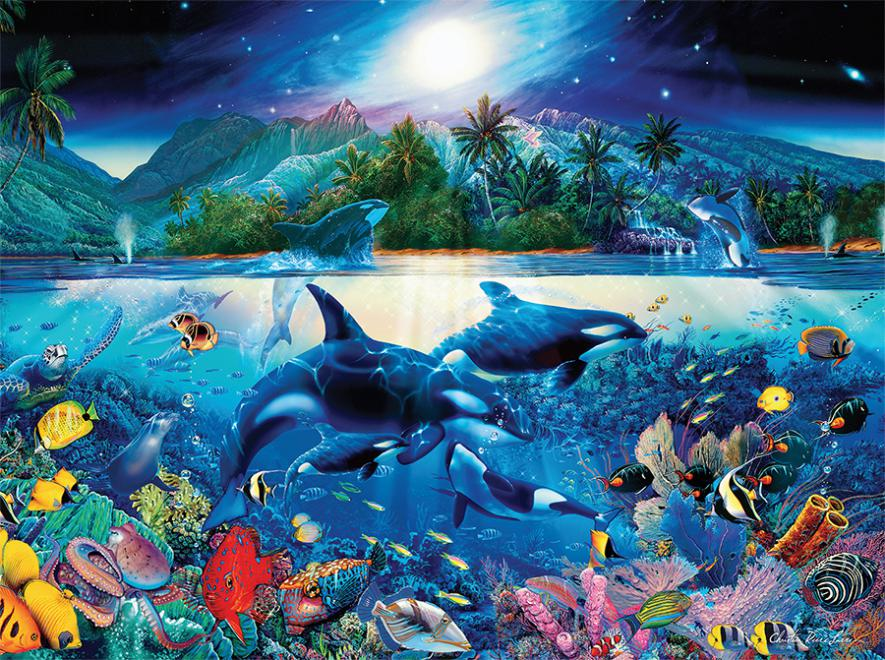 Majestic Kingdom - Scratch and Dent Under The Sea Jigsaw Puzzle