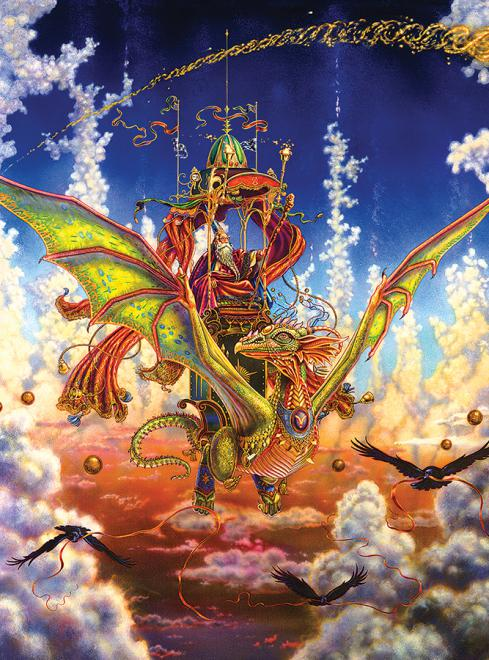 Dragonflight (Dragons) - Scratch and Dent Fantasy Jigsaw Puzzle