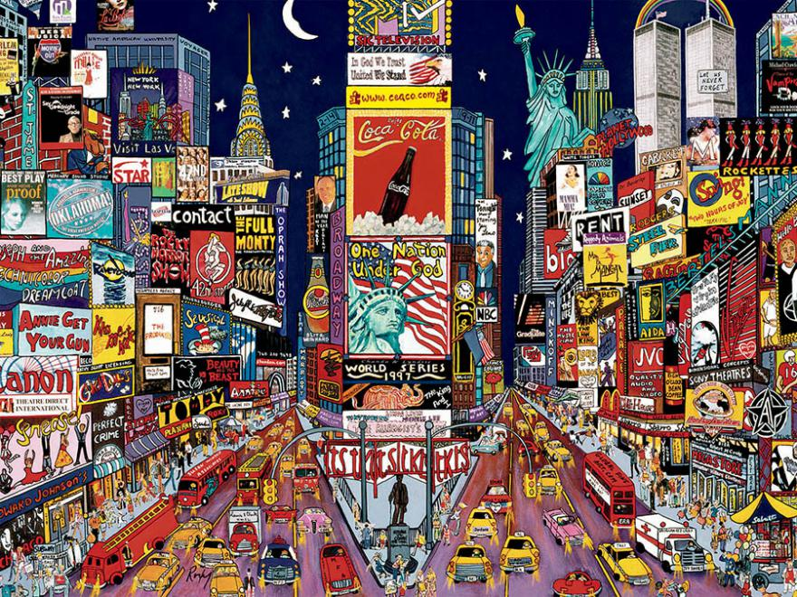 Cars For Sale Under 1500 >> New York Jigsaw Puzzle | PuzzleWarehouse.com
