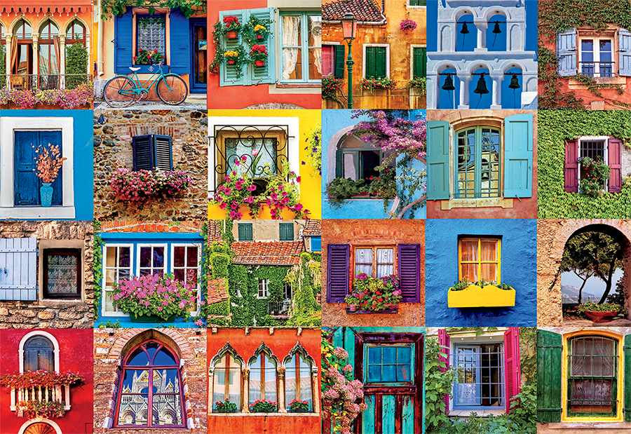 windows of the world jigsaw puzzle puzzlewarehousecom