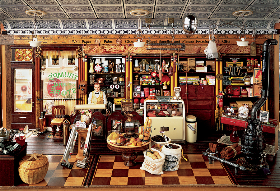 The General Store Jigsaw Puzzle Puzzlewarehouse Com