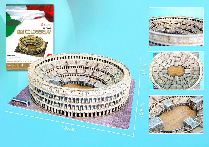 The Colosseum Landmarks / Monuments Jigsaw Puzzle