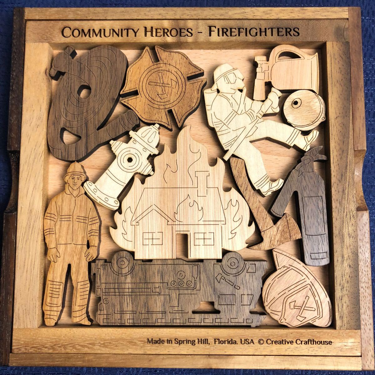 Firefighters - Community Heroes Father's Day