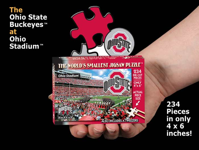 World's Smallest Puzzles - Ohio State Sports Jigsaw Puzzle