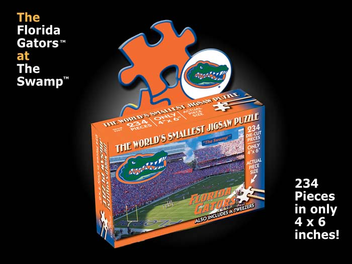 World's Smallest Puzzles - Florida Sports Jigsaw Puzzle