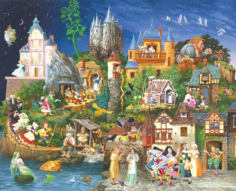 Fairy Tales - Scratch and Dent Fantasy Jigsaw Puzzle
