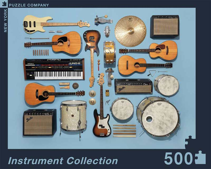 Instrument Collection Everyday Objects Jigsaw Puzzle