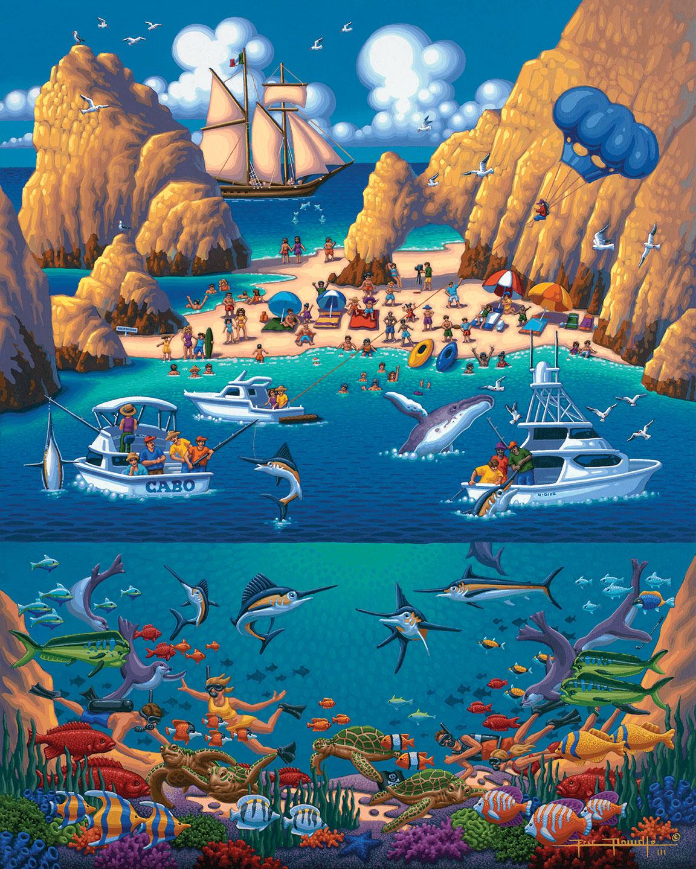 Cabo San Lucas Travel Jigsaw Puzzle