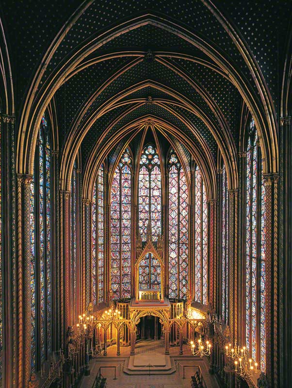 Sainte Chapelle France Jigsaw Puzzle