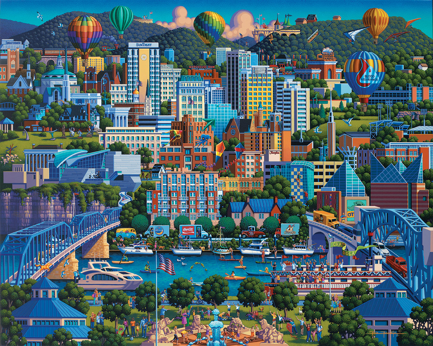 Chattanooga Jigsaw Puzzle