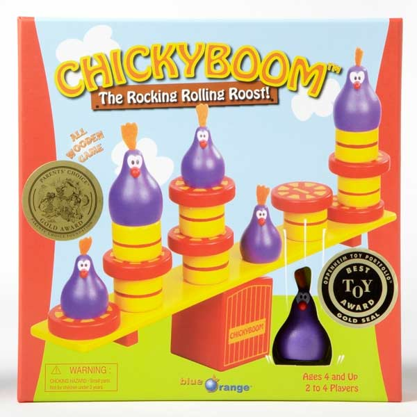 Chickyboom Children's Games Game
