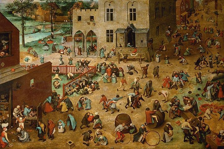 Children's Games by Pieter Bruegel The Elder Fine Art