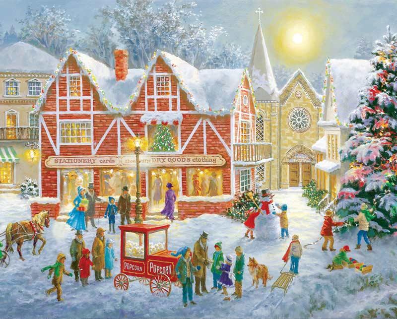 Christmas Festival Christmas Jigsaw Puzzle