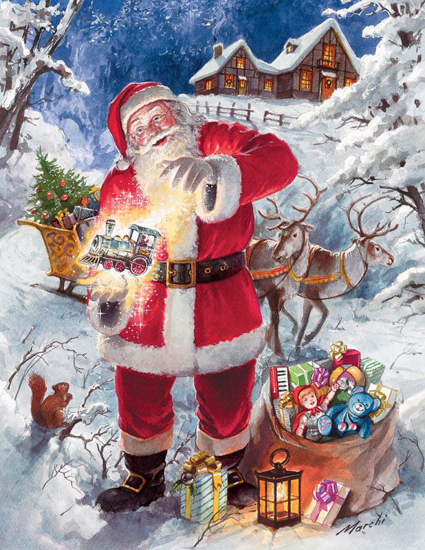 Christmas Magic Christmas Jigsaw Puzzle