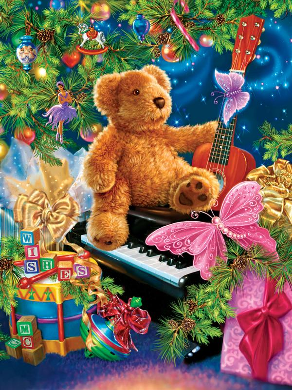 Christmas Bear Wishes Christmas Children's Puzzles