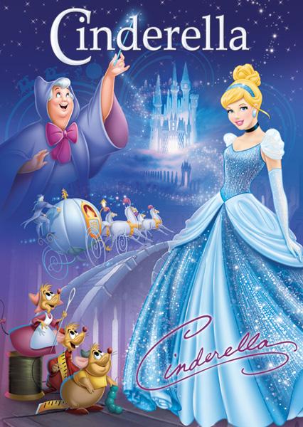 Disney Poster Puzzle - Cinderella Disney Jigsaw Puzzle