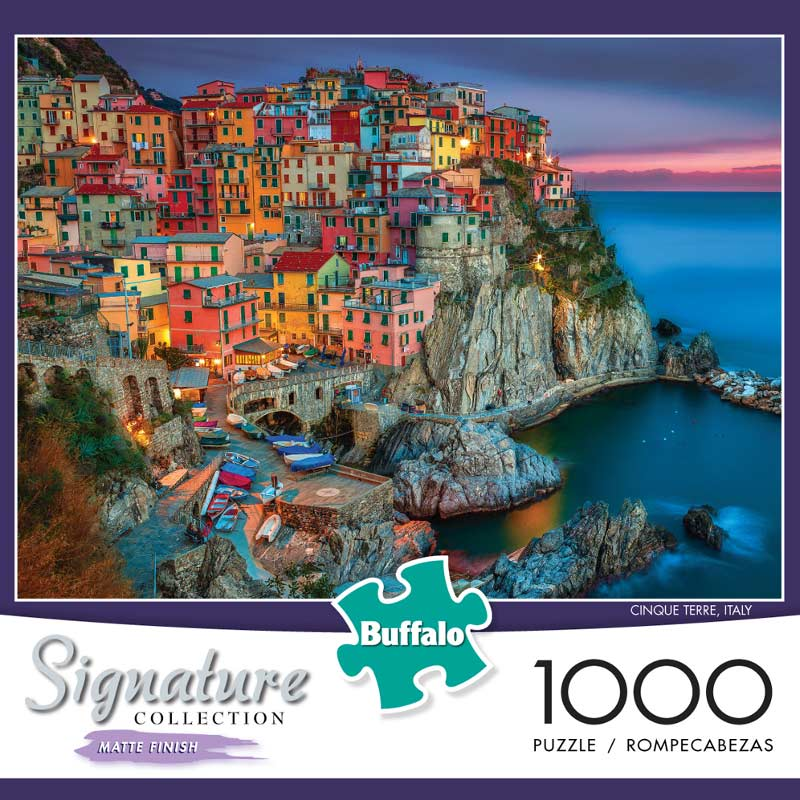 Cinque Terre, Italy - Scratch and Dent Italy Jigsaw Puzzle