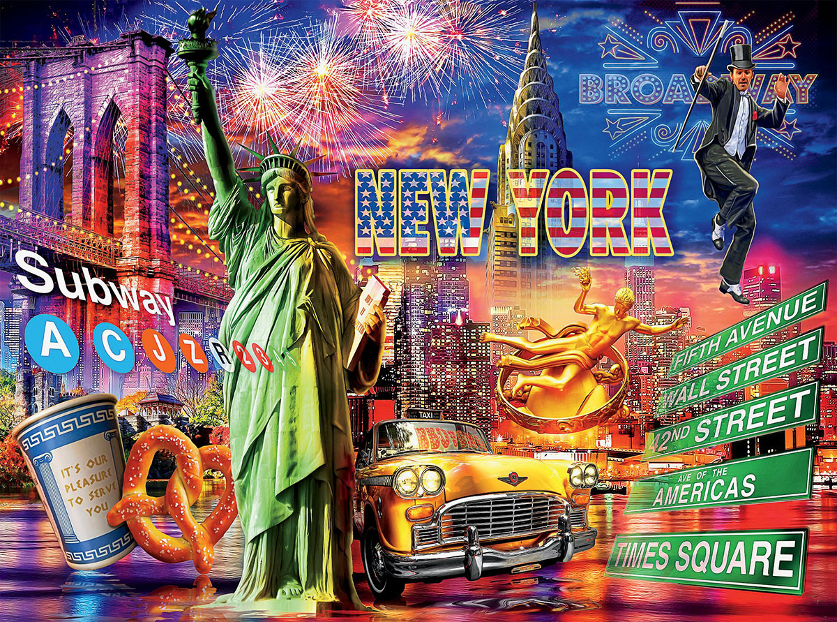 New York (Cities) New York Jigsaw Puzzle