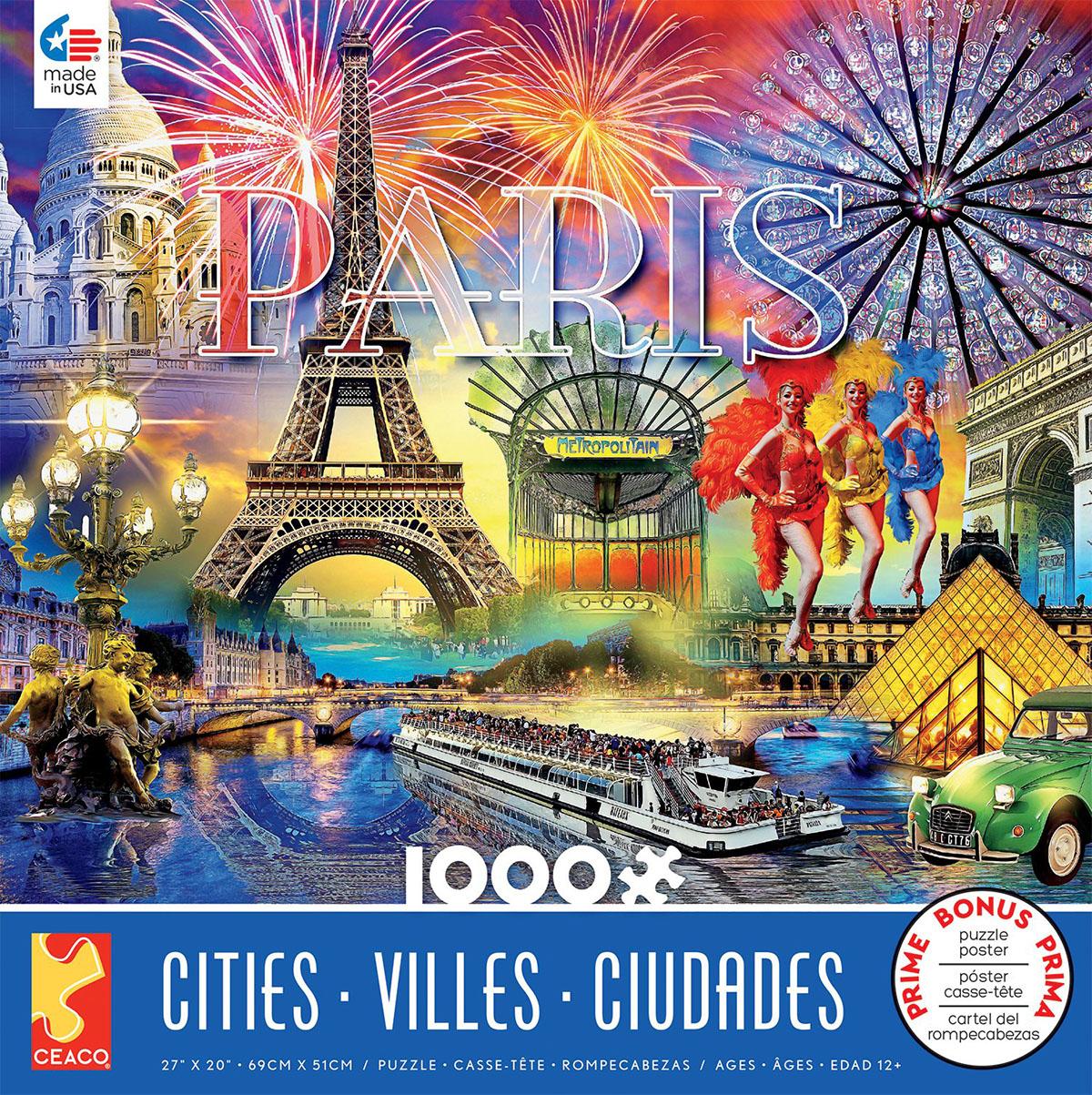 Paris (Cities) Paris Jigsaw Puzzle