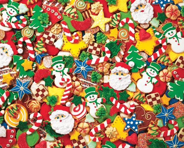 Cookie Cutouts Food and Drink Jigsaw Puzzle