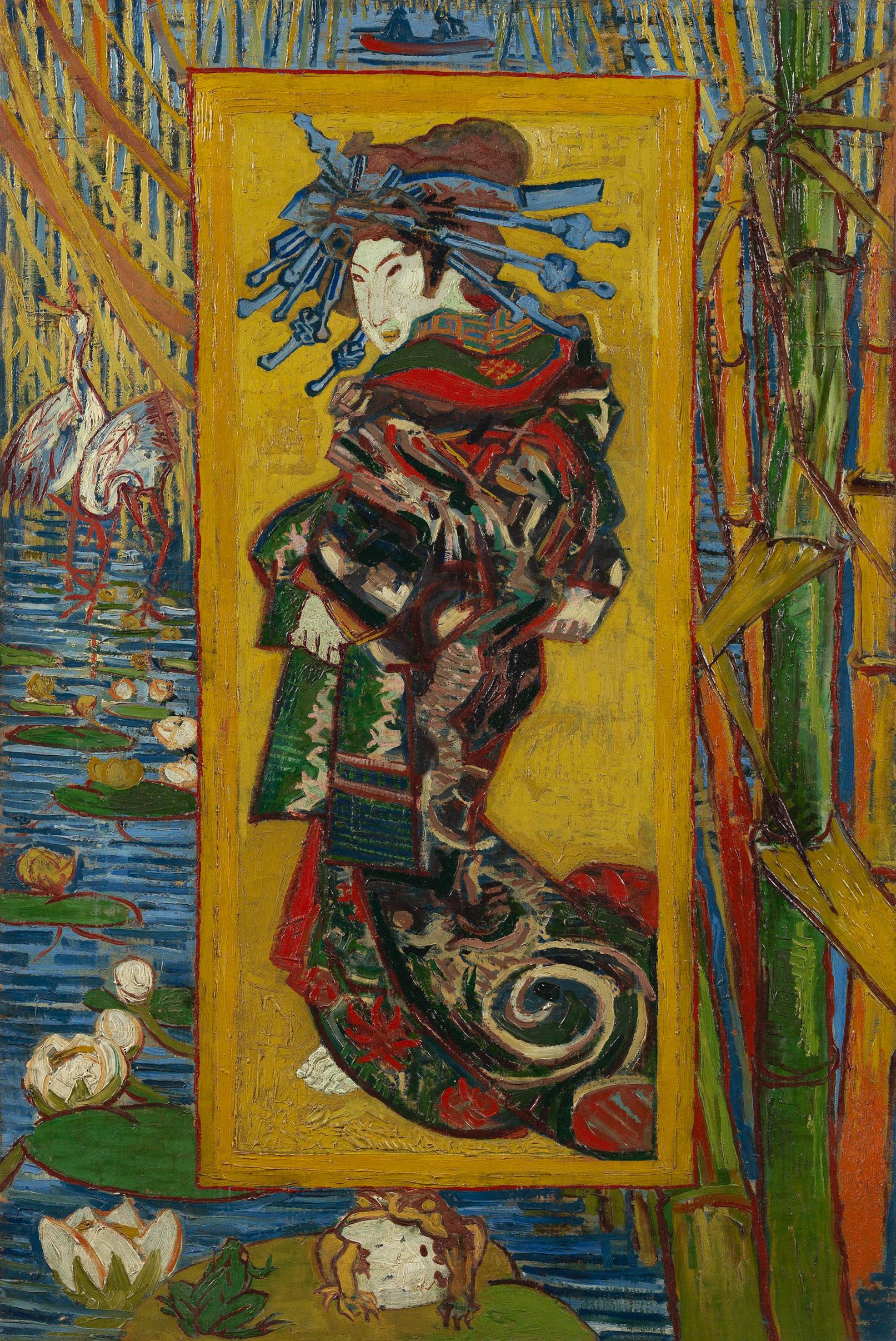Courtesan (After Eisen) by Van Gogh Fine Art