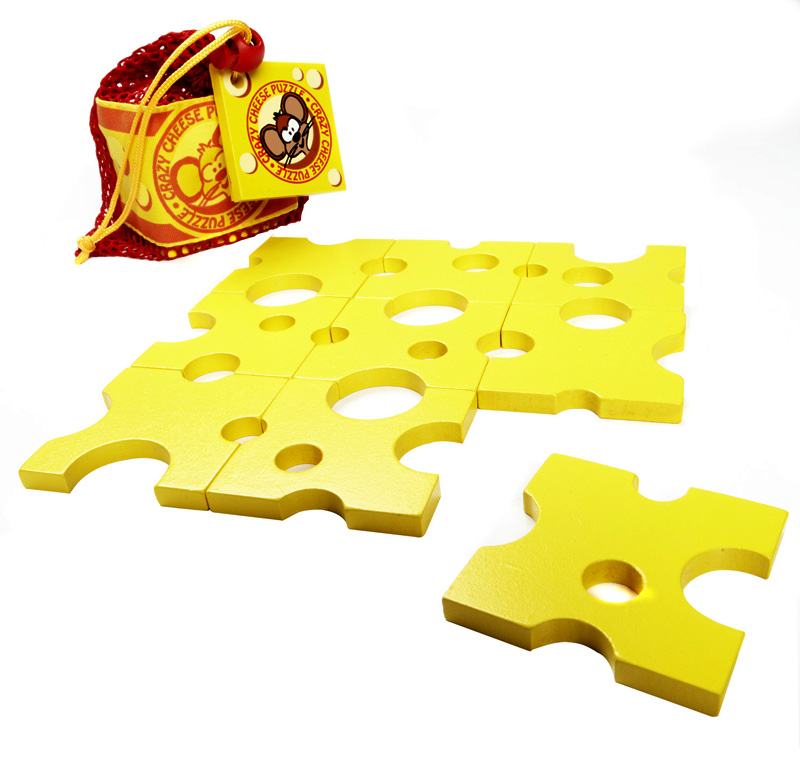Crazy Cheese Food and Drink Jigsaw Puzzle