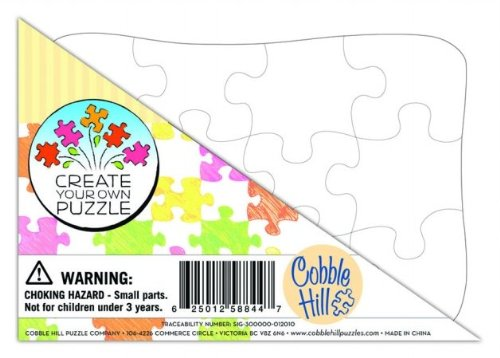 Create Your Own Puzzle - Postcard Size - Scratch and Dent Educational