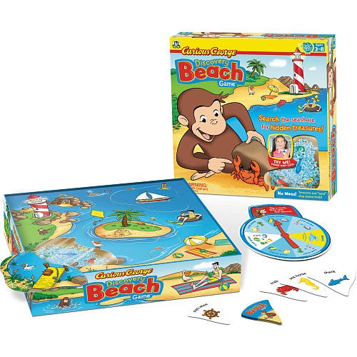 Curious George - Discovery Beach Children's Games