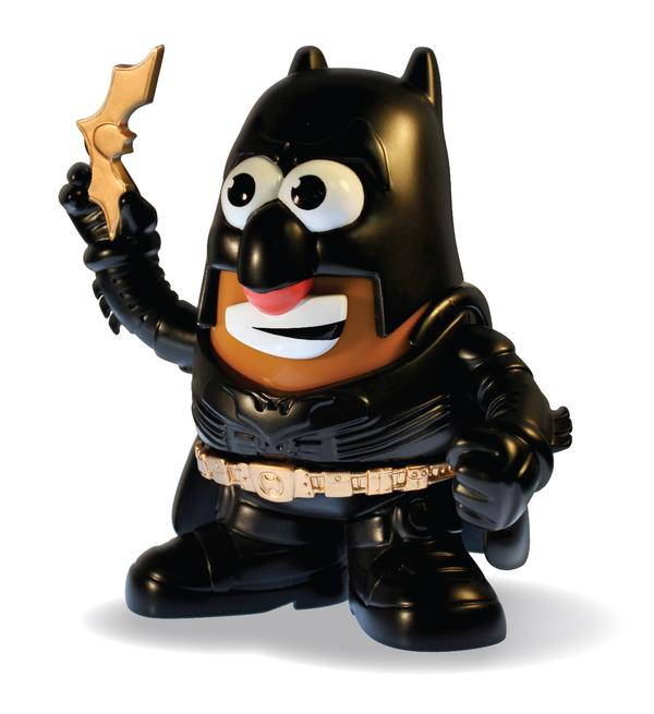Batman Dark Knight Mr. Potato Head Cartoons Toy