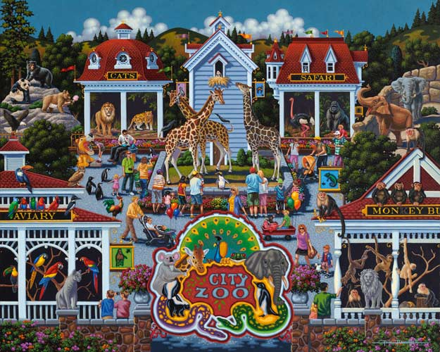 Day at the Zoo Animals Jigsaw Puzzle