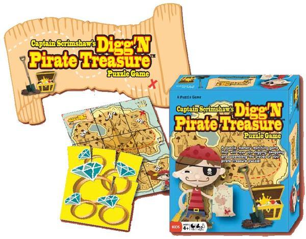 Digg'n Pirate Treasure