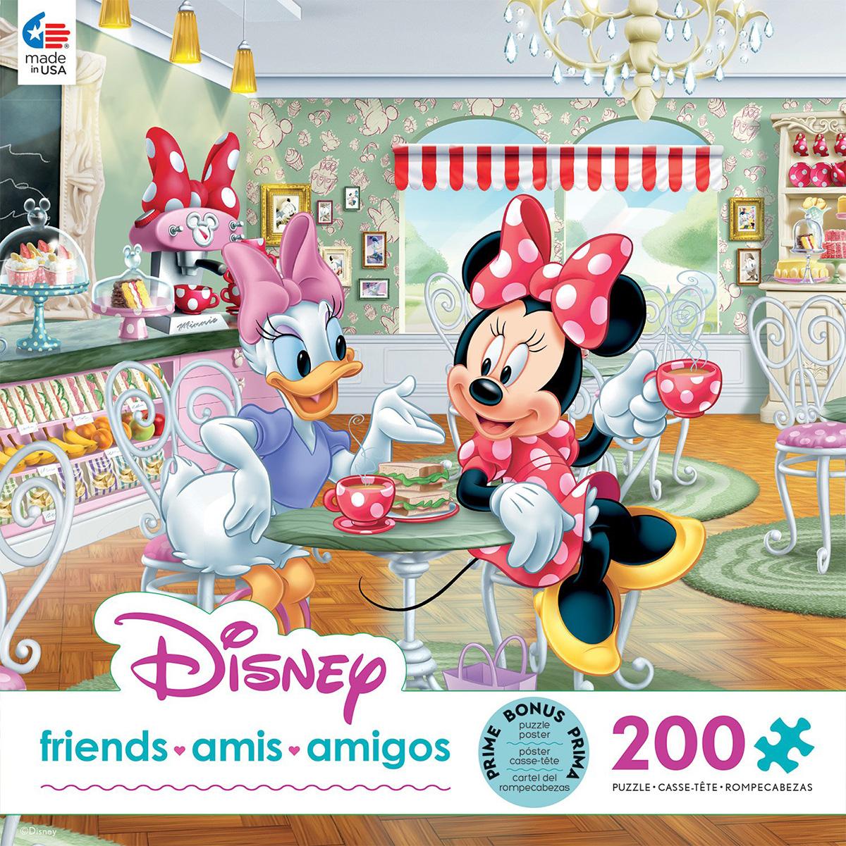 Minnie and Daisy Café Disney Jigsaw Puzzle