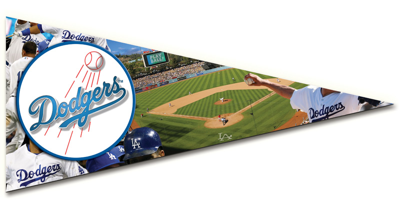 Pennant - Dodgers Sports Jigsaw Puzzle