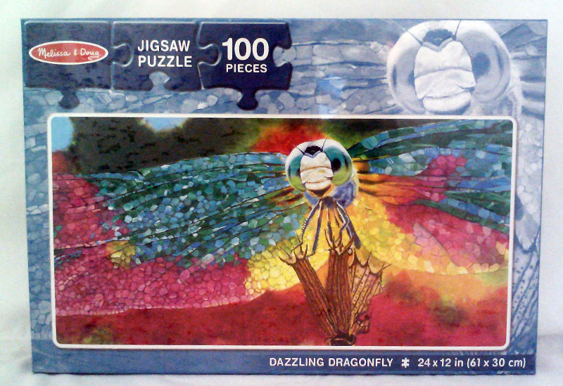 Dazzling Dragonfly Butterflies and Insects Children's Puzzles