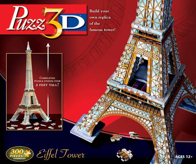 Eiffel Tower - 3D Puzzle Eiffel Tower 3D Puzzle