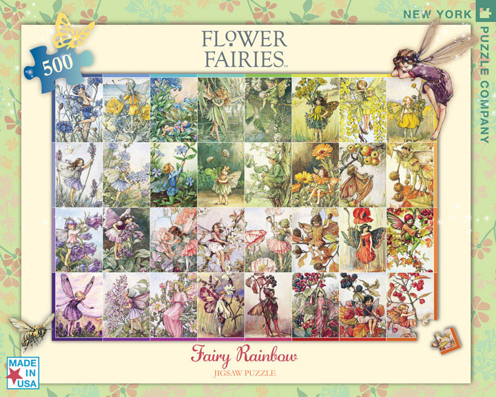 Fairy Rainbow (Flower Fairies) Fairies Jigsaw Puzzle