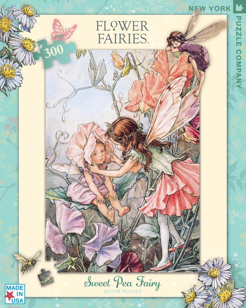 Sweet Pea Fairy (Flower Fairies) Flowers Jigsaw Puzzle