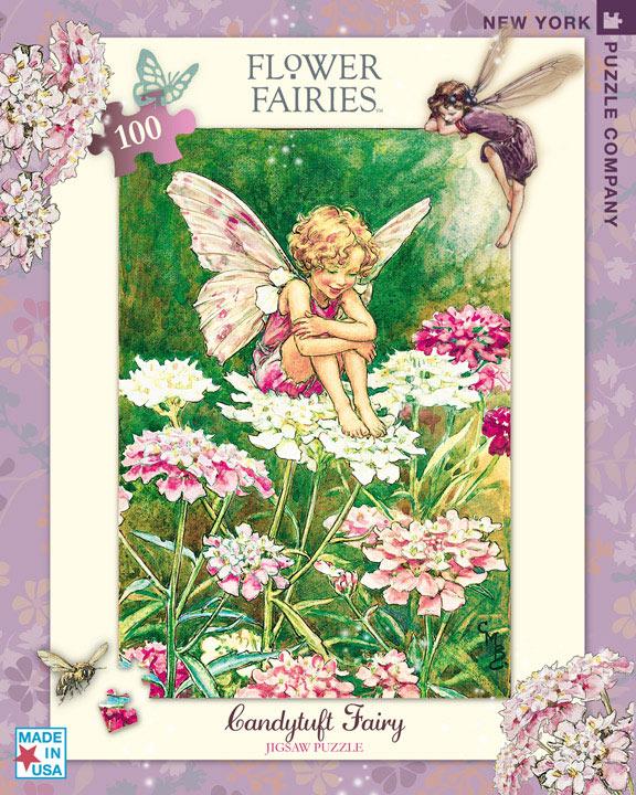 Candytuft Fairy (Mini) Flowers Jigsaw Puzzle