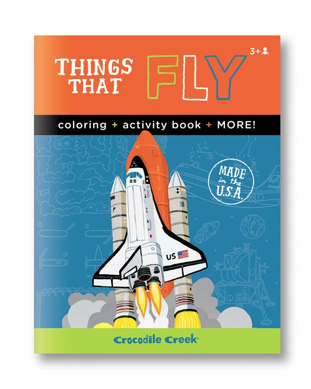 Activity Book - Things That Fly Space