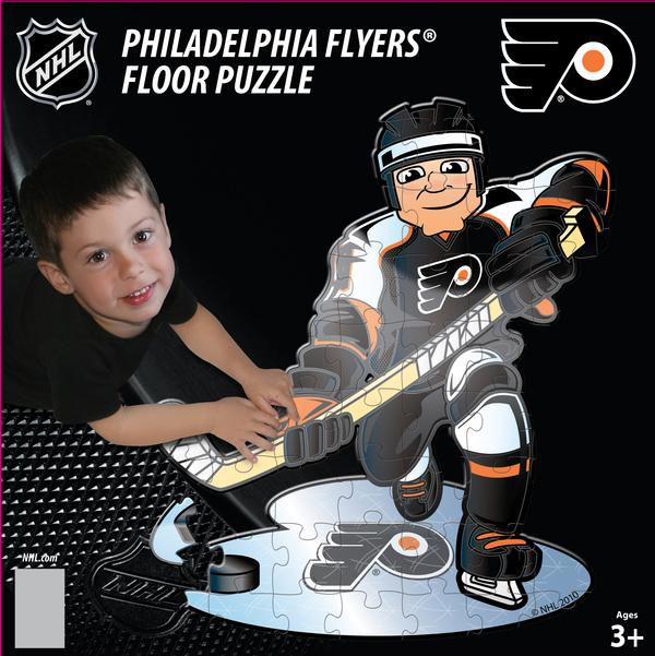NHL - PHI Flyers Floor Puzzle Sports Jigsaw Puzzle