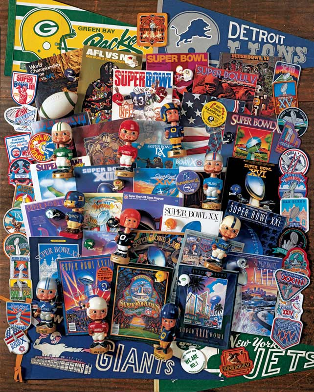 Football Fantasy Collage Jigsaw Puzzle