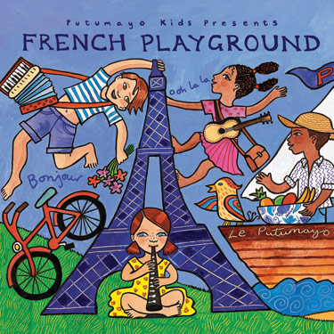 French Playground CD Travel Music CD