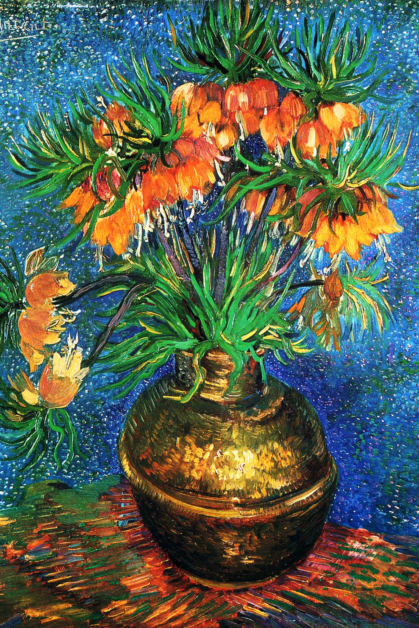 Fritillaries by Van Gogh Fine Art